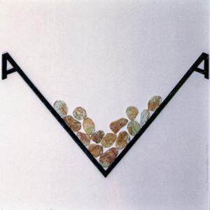 Retención Poesía Visual · Técnica mixta · 1999· 50 x 50 cm.