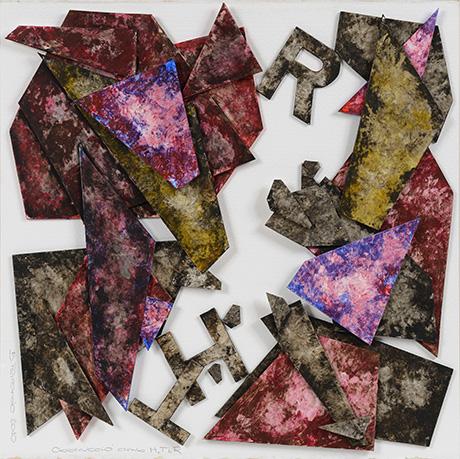 Obstrucción con H, T y R - Poesía visual de Bartolomé Ferrando 2010