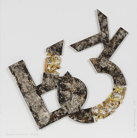 Reparación de RCK - Poesía visual de Bartolomé Ferrando 2009