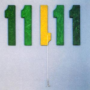 Inversión Poesía Visual · Técnica mixta · 1999· 50 x 50 cm.