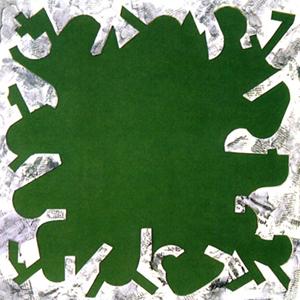 Límites Poesía Visual · Técnica mixta · 1999· 50 x 50 cm.