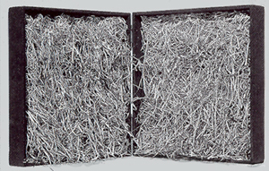 Escritura deshilachada - Libro objeto Bartolomé Ferrando 1989