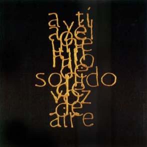 Escrituras superpuestas de Bartolomé Ferrando - A ti... 2001