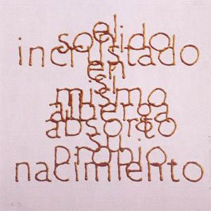 Escrituras superpuestas de Bartolomé Ferrando - El sonido... 2001