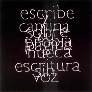Escrituras superpuestas de Bartolomé Ferrando - Escribe... 2001