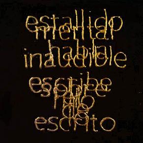 Escrituras superpuestas de Bartolomé Ferrando - Estallido... 2001