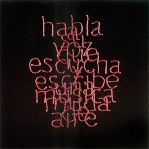 Escrituras superpuestas de Bartolomé Ferrando - Habla... 2001