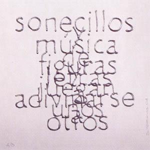 Escrituras superpuestas de Bartolomé Ferrando - Sonecillos... 2001