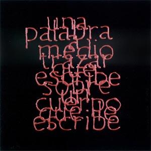 Escrituras superpuestas de Bartolomé Ferrando - Una palabra... 2001