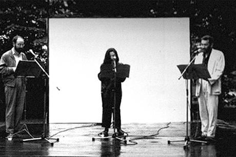 Flatus Vocis Trio: Bartolomé Ferrando, Fátima Miranda y Llorenç Barber