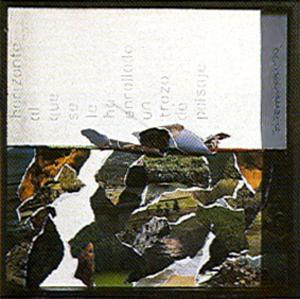 Horizonte al cual se le ha enrollado un trozo de paisaje - Bartolomé Ferrando 1990