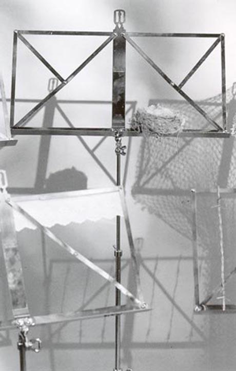 Instalación poética Música de Bartolomé Ferrando, 1997