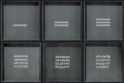 La invasión del alfabeto - Poema proceso Bartolomé Ferrando