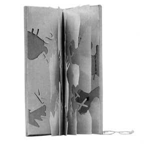 Poema objeto Bartolomé Ferrando - Libro objeto I 1996