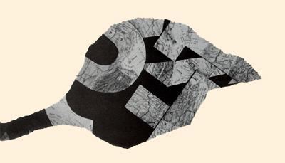 Poesía proceso Bartolomé Ferrando - Residuos (detalle) 1998
