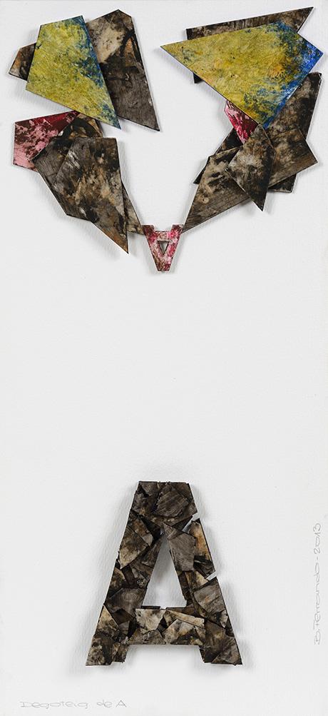 Bartolomé Ferrando Poesía visual - Goteo de A 2013