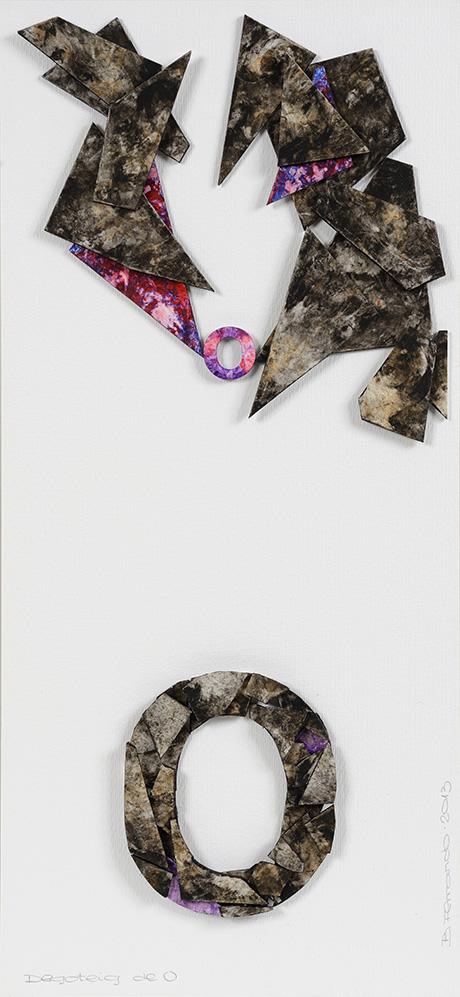 Bartolomé Ferrando Poesía visual - Goteo de O 2013