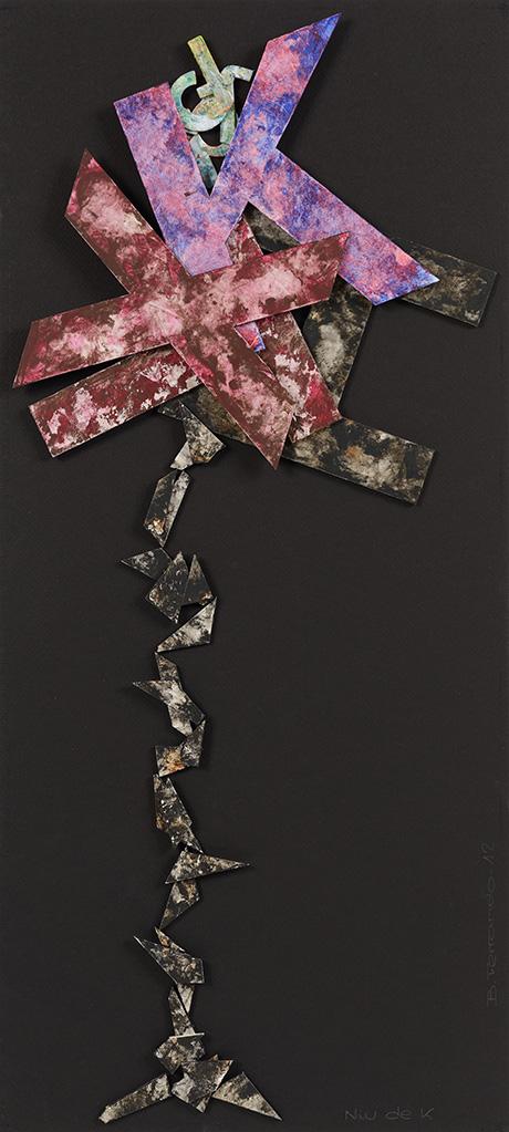 Poesía visual Bartolomé Ferrando - Nido de K 2012