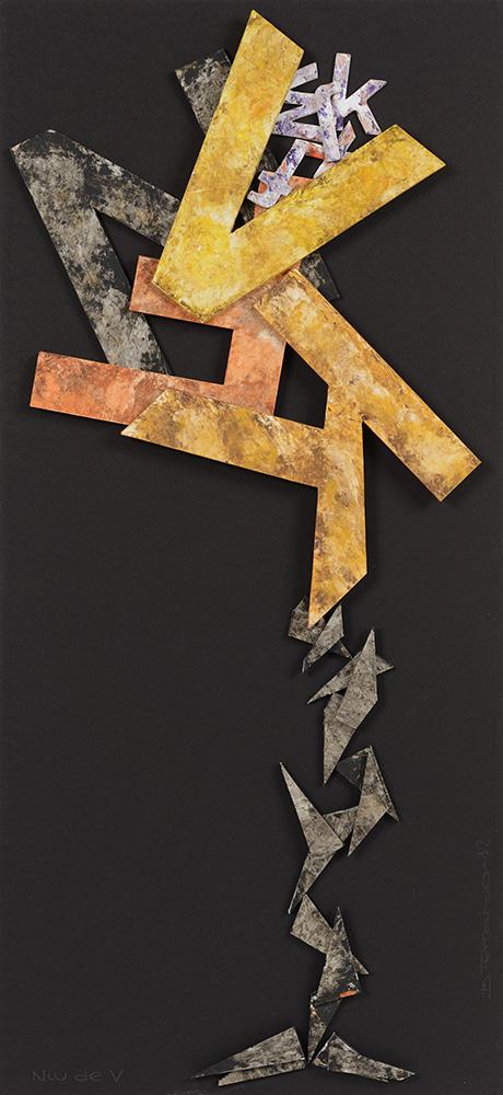 Poesía visual Bartolomé Ferrando - Nido de V 2012