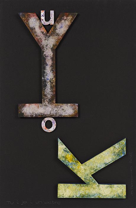 Poesía visual Bartolomé Ferrando - Sin título 2012