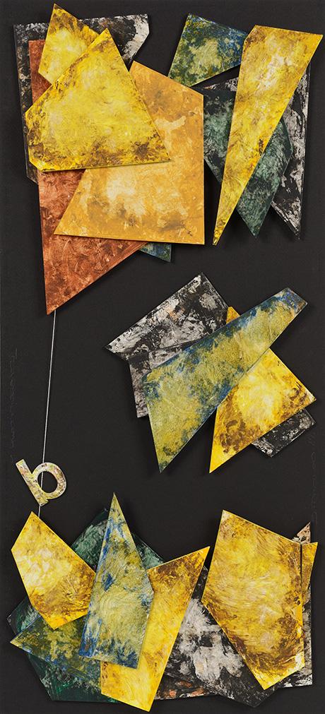 Poesía visual Bartolomé Ferrando - Travesía con B 2012