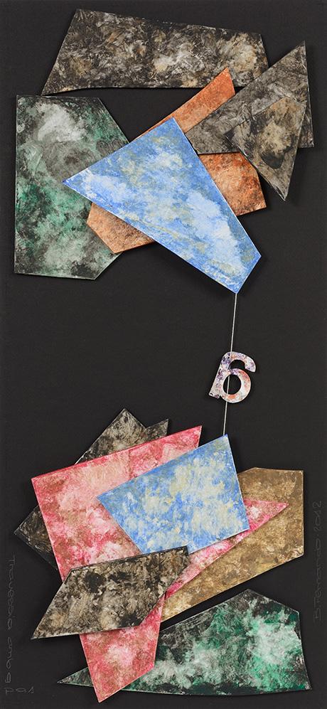 Poesía visual Bartolomé Ferrando - Travesía con G 2012