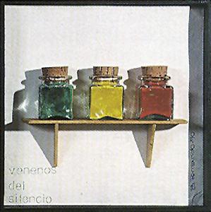 Venenos del silencio - Poema objeto Bartolomé Ferrando 1990
